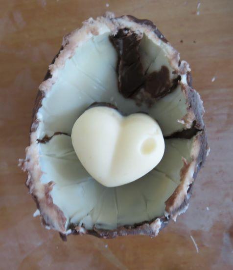 לב בביצה