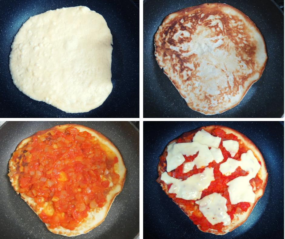 פיצה מטוגנת